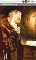 Screenshot of Immagini di Padre Pio