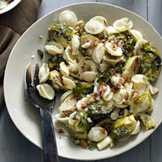 Brussels Sprouts with Marjoram and Pine Nuts