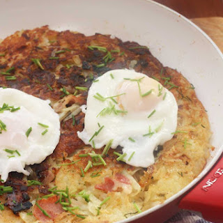 Potato Rosti Cheese Bacon Recipes