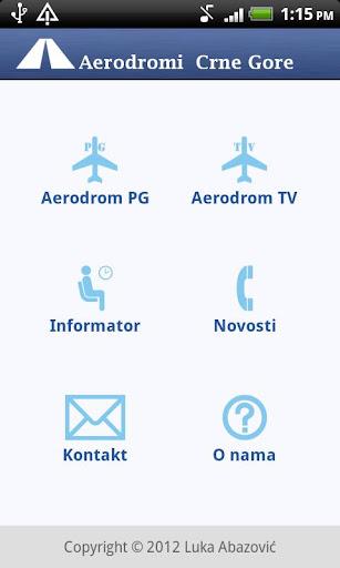 Aerodromi Crne Gore