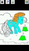 Screenshot of Pony Coloring book
