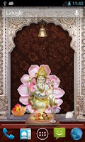 Screenshot of Shri Ganesha 3D Temple LWP