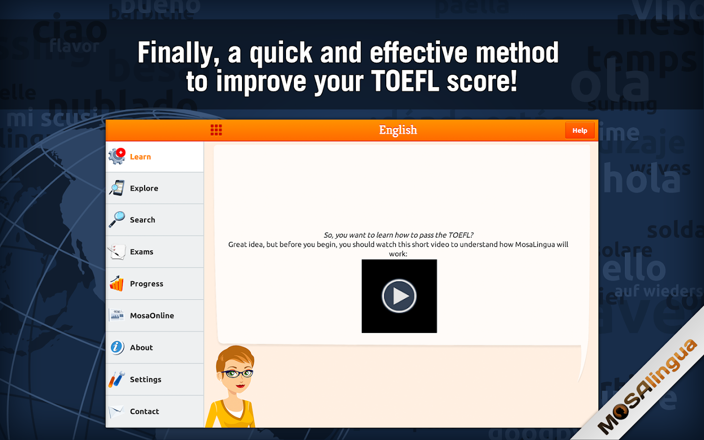 Learn TOEFL Vocabulary Screenshot 5