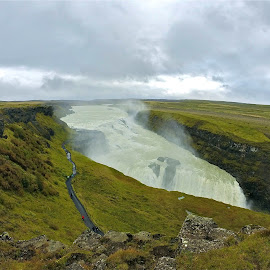 Gulfoss by Tyrell Heaton - Instagram & Mobile Other ( gulfoss, iceland, gopro, waterfall )