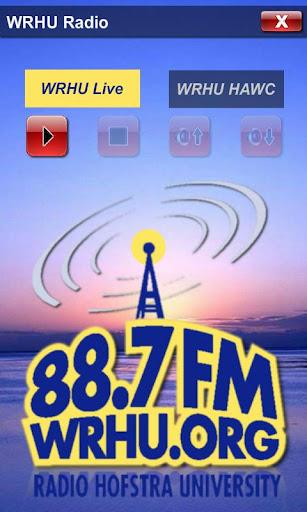WRHU Hofstra Radio Player