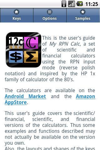 My RPN Calc User's Guide