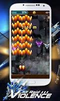 Screenshot of Violence Air Raid