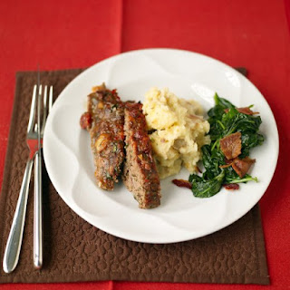Meatloaf and Baked Mashed Potatoes