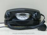 Desk Phones - Western Electric 702B Black Princess