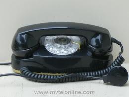 Desk Phones - Western Electric 702B Black Princess 1