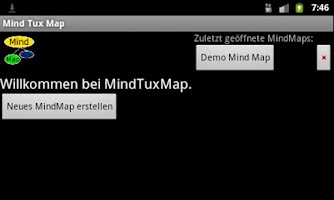Screenshot of Mind Tux Map
