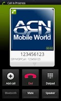 Screenshot of Korea ACN Mobile World