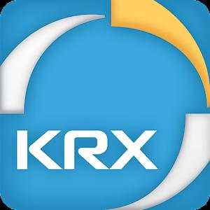 한국거래소 KRX 모바일 서비스 아이콘