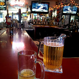 by Tom Carson - Food & Drink Alcohol & Drinks ( mug, beer, alcohol, pitcher, bar, drinks )