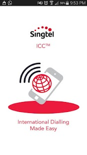 Singtel ICC - screenshot