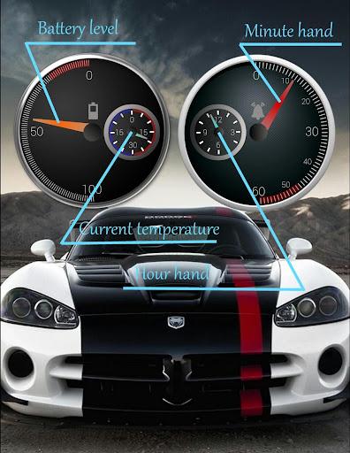 Weather Speedometer Zooper - screenshot