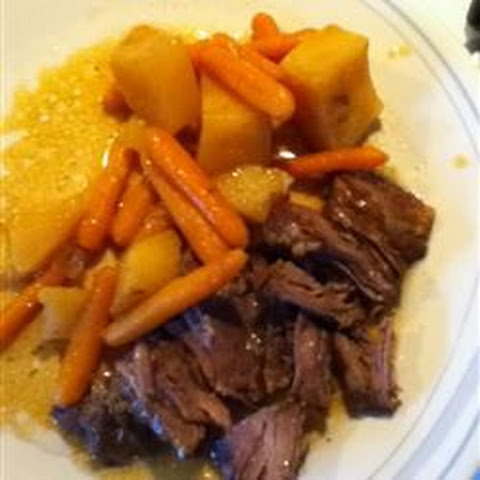 Apple Flavored Pot Roast