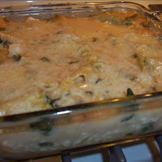 Chicken Cheese Lasagna