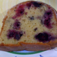 Wonderful Blueberry Pound Cake!
