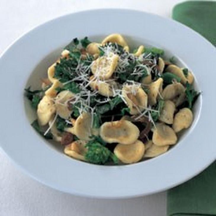 Orecchiette with Sprouting Broccoli, Pine Nuts and Sultanas Recipe ...