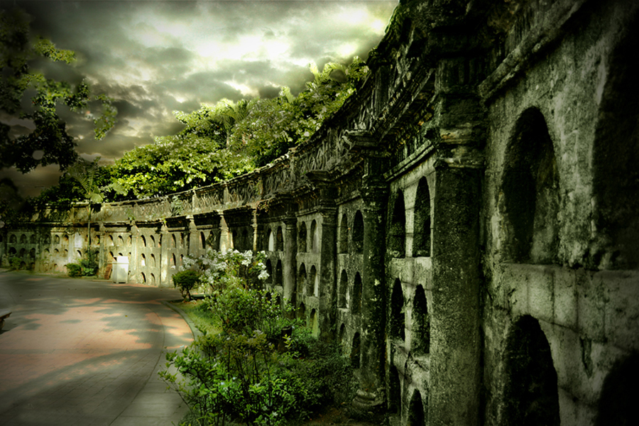 Ruins of Paco Park Cemetery by Rodel Cabantac - Digital Art Places ( creepy, gothic, nikon d3100, rodel, weird architecture, ghost )