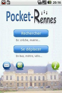 Pocket-Rennes - screenshot