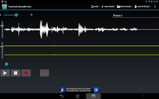 Screenshot of Twotrack audio recorder free