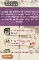 Screenshot of Musée Bonnard : collections
