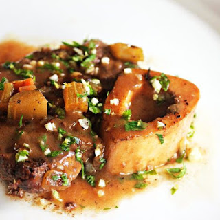 Slow-Cooker Beef Shank Osso Buco With Lemon-Parsley Gremolata