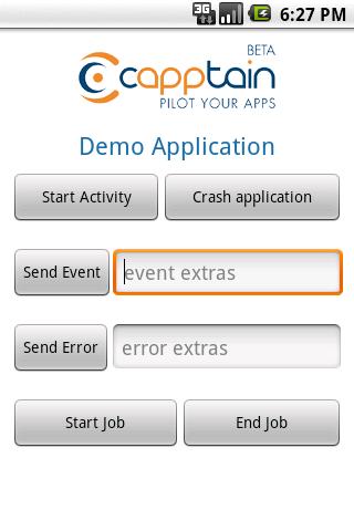 Capptain Demo Application