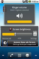 Screenshot of Brightness Rocker Lite