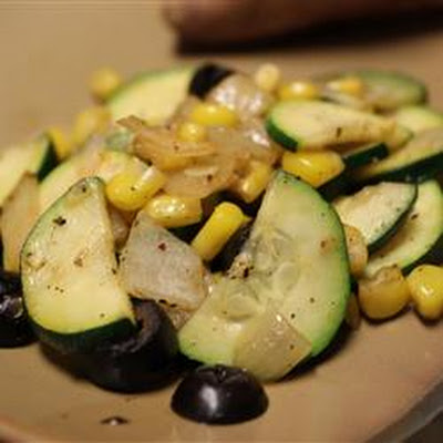 Jon's Corn and Zucchini