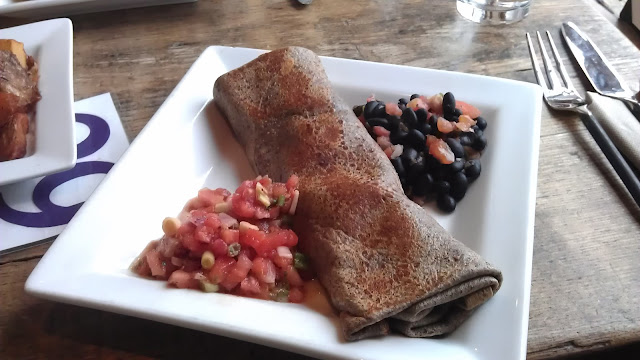 buckwheat breakfast burrito