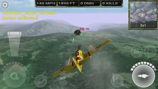 FighterWing 2 Flight Simulator - screenshot