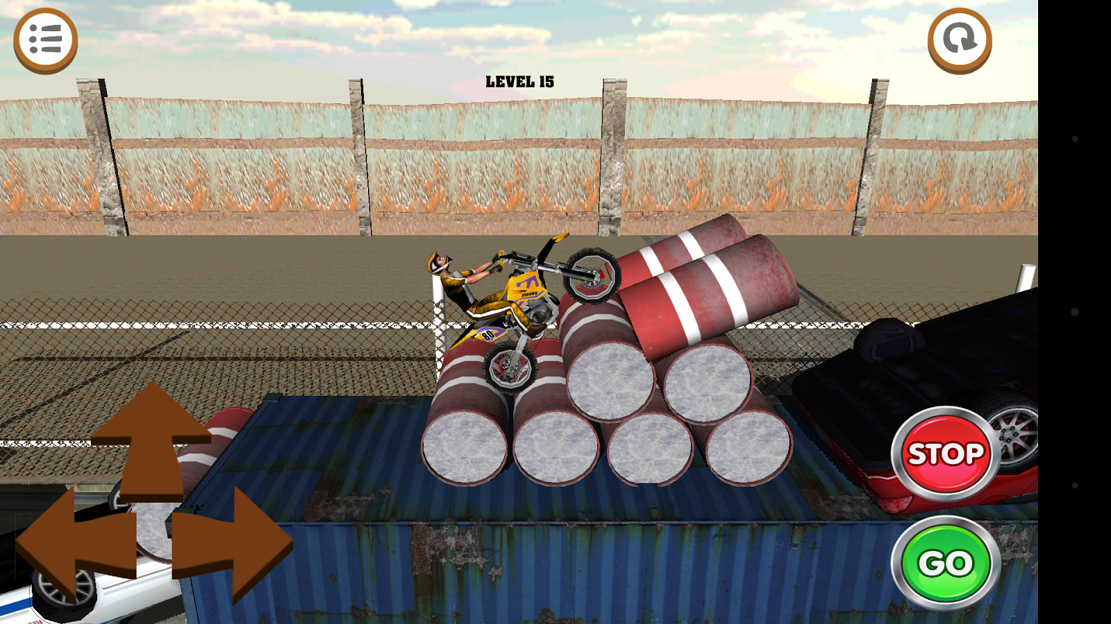 3D Motocross Bike: Industrial Screenshot 6