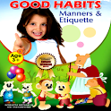Good Habits Manners, Etiquette icon