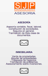 Sjp asesoria management - screenshot