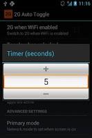 Screenshot of 2G Auto Toggle