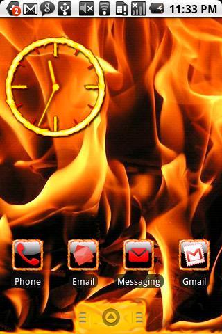 Fire Theme HD