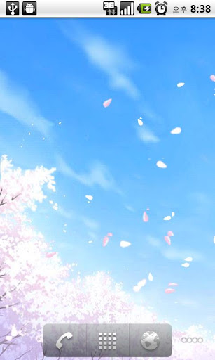 [Anip] 라이브 배경화면 벚꽃향연