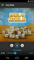 Screenshot of Holy Bible - Audio Book Ed.