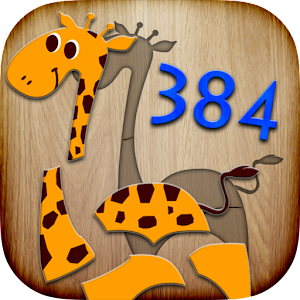 384 Puzzles for Preschool Kids Icon