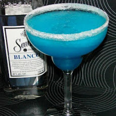Simple Blue Lagoon Margaritas