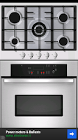 Screenshot of kitchen timer clock