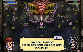 Screenshot of Sela The Space Pirate FREE