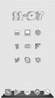 Screenshot of Doodle Draw B&W Icon Pack