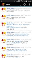 Screenshot of Simple Shop RSS