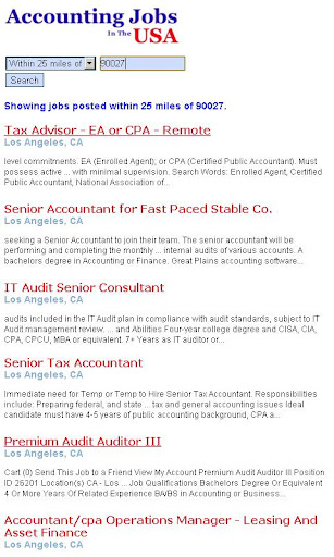 【免費商業App】Accounting Jobs In The USA-APP點子