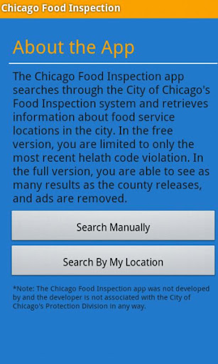 Chicago Food Inspection
