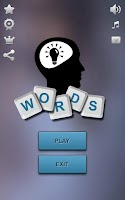Screenshot of Think: Words